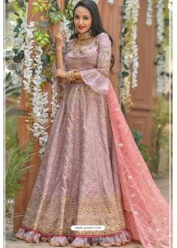 Pink Adda Silk Designer Lehenga Choli