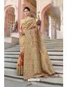 Multi Colour Designer Silk Digital Printed Saree