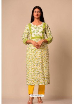 Latest Cotton Casual Wear Readymade Kurti