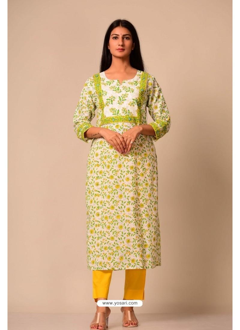 Latest Cotton Casual Wear Readymade Kurti