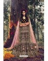 Gorgeous Maroon Pure Velvet Designer Wedding Wear Lehenga Choli