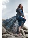 Peacock Blue Heavy Designer Party Wear Anarkali Suit