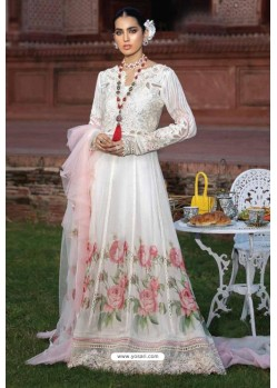 Off White Latest Heavy Designer Pakistani Style Salwar Suit