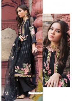 Black Latest Heavy Designer Pakistani Style Salwar Suit