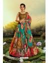 Multi Colour Stylish Designer Party Wear Lehenga