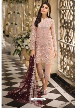 Baby Pink Latest Heavy Designer Pakistani Style Salwar Suit