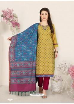 Corn Party Wear Designer Straight Salwar Suit