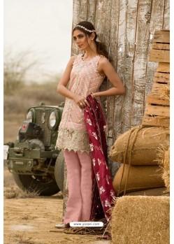 Baby Pink Latest Georgette Designer Party Wear Pakistani Style Salwar Suit