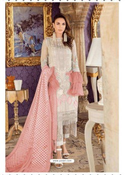 Off White Latest Georgette Designer Party Wear Pakistani Style Salwar Suit