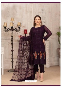 Deep Wine Latest Heavy Designer Party Wear Straight Salwar Suit