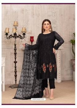 Black Latest Heavy Designer Party Wear Straight Salwar Suit