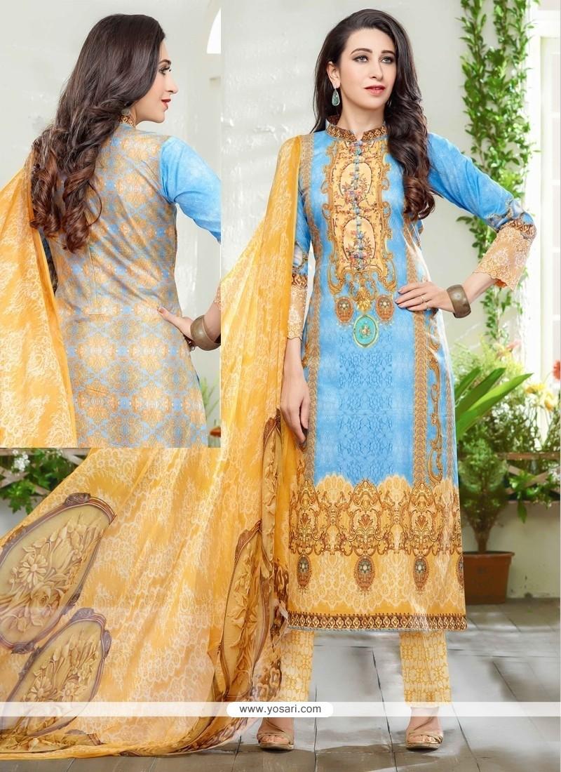 Karishma Kapoor Print Work Designer Suit