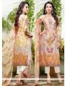 Karishma Kapoor Multi Colour Chiffon Satin Designer Suit
