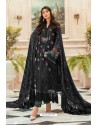 Black Latest Heavy Faux Georgette Designer Party Wear Pakistani Style Salwar Suit