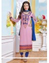 Sensational Resham Work Churidar Salwar Kameez