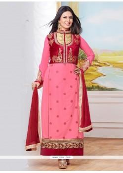 Beckoning Cotton Designer Straight Salwar Kameez