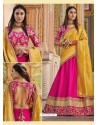 Rani Heavy Embroidered Designer Wedding Wear Lehenga Choli