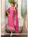 Integral Hot Pink Salwar Suit