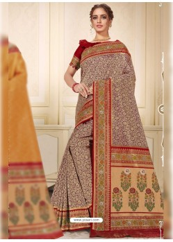 Multi Colour Designer Traditional Wear Silk Wedding Sari