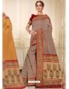 Multi Colour Designer Traditional Wear Silk Wedding Sari