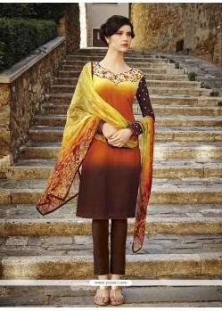 Distinctive Cotton Salwar Suit
