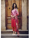 Perfervid Cotton Embroidered Work Designer Salwar Kameez
