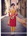 Vibrant Resham Work Salwar Suit