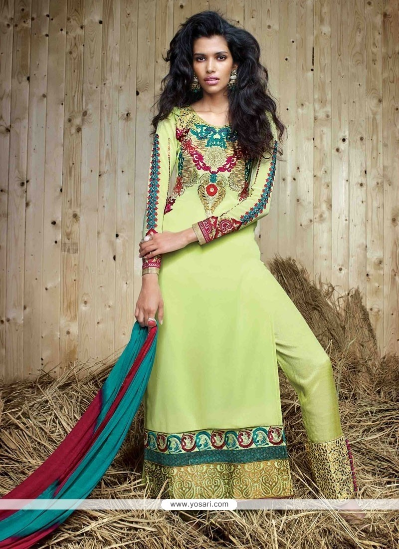 Hypnotic Georgette Designer Suit