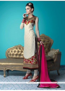 Regal Embroidered Work Georgette Designer Suit