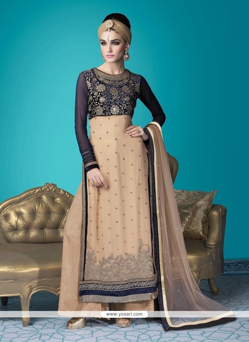 Jazzy Resham Work Designer Suit