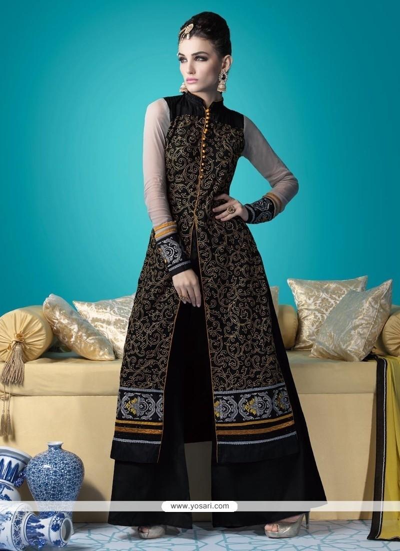 Distinctive Resham Work Designer Suit