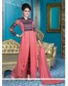 Royal Embroidered Work Georgette Designer Suit