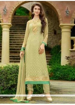 Sumptuous Resham Work Designer Straight Salwar Suit