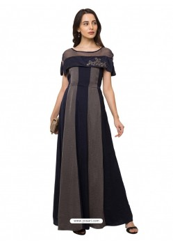 Black Sensational Designer Party Wear Gown