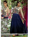 Superb Blue Anarkali Suit