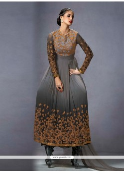 Fabulous Georgette Anarkali Salwar Suit