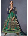 Innovative Georgette Zari Work Jacket Style Anarkali Suit