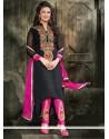 Voluptuous Georgette Resham Work Designer Salwar Suit