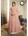 Light Orange Latest Heavy Embroidered Designer Wedding Anarkali Suit