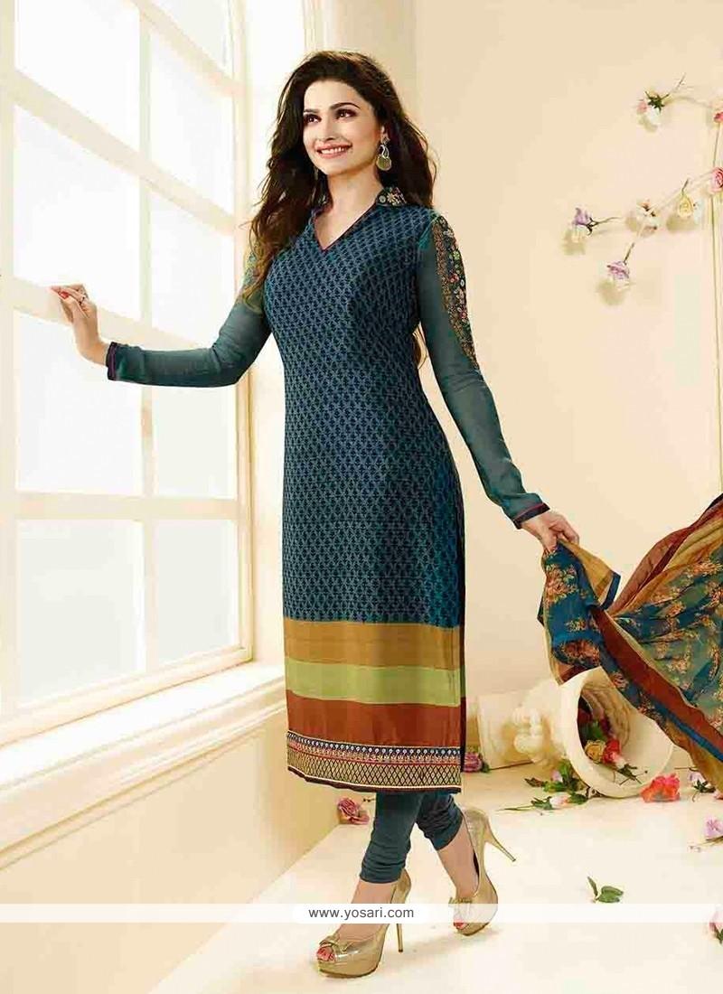 Prachi Desai Straight Suit