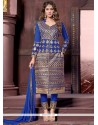 Lovable Cotton Designer Straight Salwar Kameez
