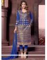 Lovable Cotton Designer Straight Salwar Kameez