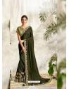 Mehendi Latest Designer Party Wear Wedding Sari