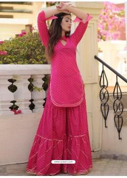 Rani Fabulous Readymade Designer Party Wear Palazzo Salwar Suit