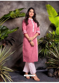 Light Pink Fabulous Readymade Designer Party Wear Palazzo Salwar Suit
