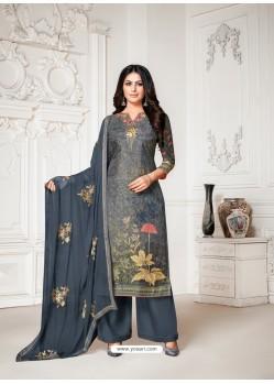 Pigeon Designer Pure Cotton Silk Party Wear Palazzo Suit