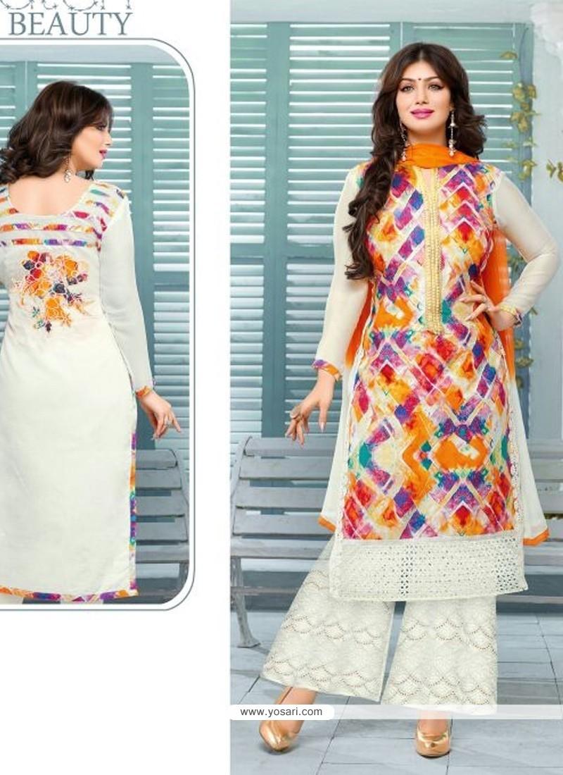 Ayesha Takia Cotton Designer Palazzo Salwar Kameez