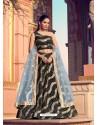 Gold And Black Gorgeous Heavy Designer Wedding Wear Lehenga Choli