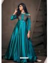 Blue Sensational Designer Party Wear Gown