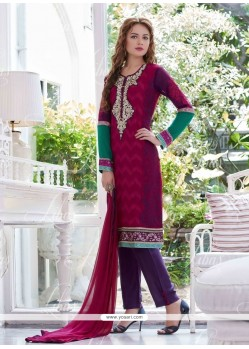 Distinctive Georgette Salwar Suit